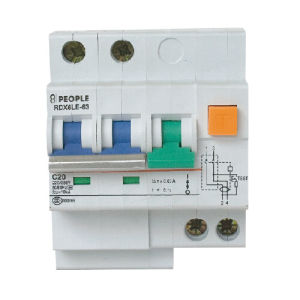Earth Leakage Circuit Breakers 10ka (RDX6LE-63) 2p pictures & photos