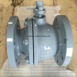 150lb/300lb Cast Steel Wcb Floating Type Flange End Ball Valve
