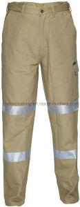 Reflective Cargo Pants Flame Resistan Pants with Reflective Hi Vis Polycotton Trousers (ELTHVJ-142) pictures & photos