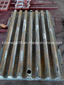 Customized Crusher Wear Parts Jaw Plate for Jaw Crusher pictures & photos