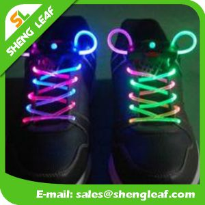 Nylon Reflective Promotional LED Shoe Lace (SLF-NS010) pictures & photos