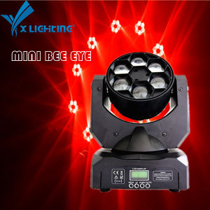 Mini 6*15W LED Moving Head DJ Disco Stage Lighting Bee Eye pictures & photos