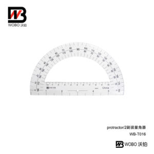 2016 New Style Plastic Protractors Ruler for Office School Stationery pictures & photos