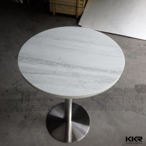 Kkr Modern Round Coffee Table, Solid Surface Dining Table pictures & photos