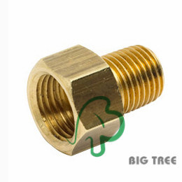 Brass Adapter Female to Male NPT pictures & photos