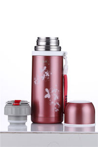18/8 Solidware Stainless Steel Vacuum Flask Svf-400A Red pictures & photos
