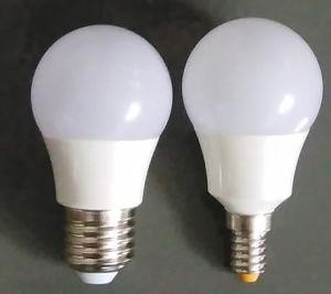 Aluminum + Plastic Bulb, A60 E27 LED Bulbs, 230 Beam Angle Aluminum Bulb pictures & photos