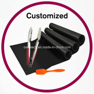 Barbecue Grill Set Mat Brush Tongs pictures & photos