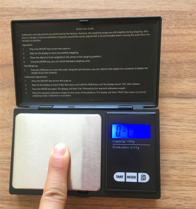 Hot Sale Cheap Electronic Pocket Scale 100g*0.01g pictures & photos