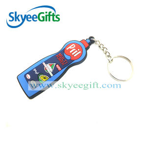 Customized Promotional Gifts Wholesale Plastic Rubber PVC Keychain pictures & photos