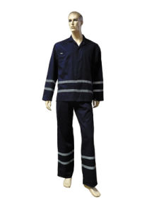 Work Wear Suit with Reflective Tape pictures & photos