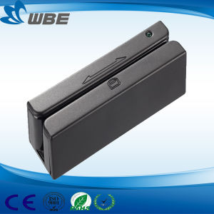 High-Quality Magstrip Card Reader/ with RS232/USB/PS2 Interface, POS Terminal pictures & photos