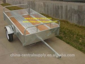 2.4m Box Trailer (CT0082BG) pictures & photos