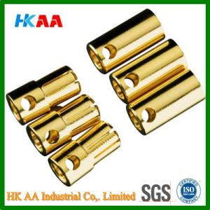 3.5mm / 6.5mm Brass / Gold Bullet Connector pictures & photos