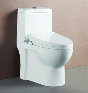 Siphonic One Piece Sanitary Ware/Ceramic Toilet/Bathroom Toilet (720X370X800mm) pictures & photos