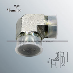 Carbon Steel Pipe Fittings Elbow Pneumatic Brass Hydraulic Hose Fitting pictures & photos