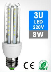 LED Lamp 3u Shape 8W pictures & photos