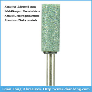 G-08 Silicone Carbide Maded Green Mounted Stone Universal Grinding Stones pictures & photos