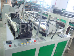 Automatic Heat Sealing and Cold Cutting Bag Making Machine for Flat Bag pictures & photos