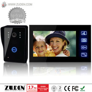 Intelligent Building Video Door Phone with Color CMOS Camera pictures & photos