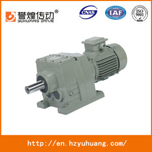 RF37-167 Foot Mounting Helical Gearbox Speed Reducer Helical Gear Box pictures & photos