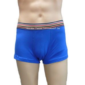 Men′s Underpants with Weaving Strip on Waistband pictures & photos