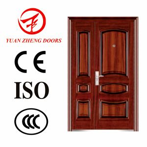 Hot Selling Steel Double Door for Entrance Type Door pictures & photos