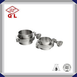 304 316L Sanitary Stainess Steel Union Ferrule Set Clamp pictures & photos