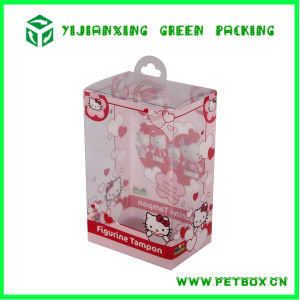 Colors Printing High End Portable Plastic Gift Packaging Box pictures & photos