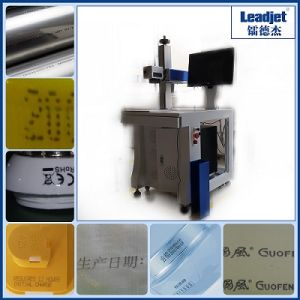 portable Fast Speed Fiber Laser Marking Machine Printer for Metal pictures & photos