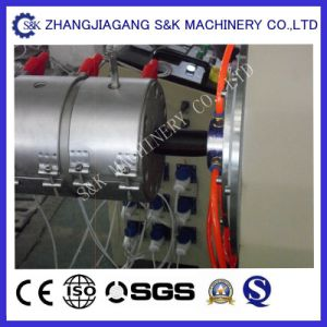 Single-Screw Screw Design PPR Pipe Extruder Machinery /Pipe Production Line pictures & photos