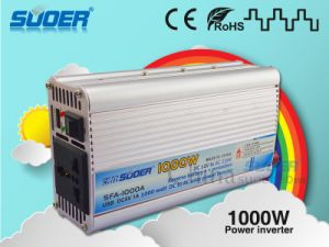 Suoer Manufacture External Fuse 1000W 12V DC AC Power Inverter (SFA-1000A) pictures & photos