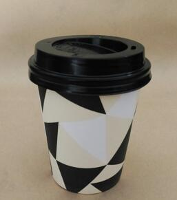 China Hot Selling Cafe Dedicated Hot Paper Cup with Lid pictures & photos