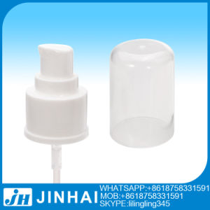 Plastic Treatment Pump Cosmetic Cream Treatment Pump with Full Cap pictures & photos