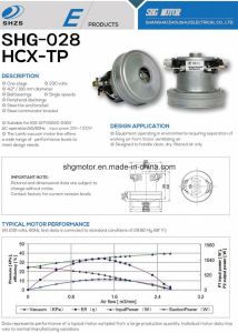 Ce CCC Approval High Quality Motor for Vacuum cleaner pictures & photos