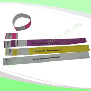 Entertainment Water-Proof Tyvek Wristbands (E3000-3-7) pictures & photos