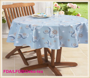 Double Face Printed PVC Tablecloth Wholesale pictures & photos