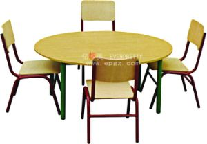 Kindergarten Classroom Furniture Set Used Children Desk and Chair pictures & photos