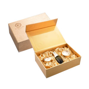 Luxury Custom Handmade Hot Stamping Packaging Gift Box pictures & photos