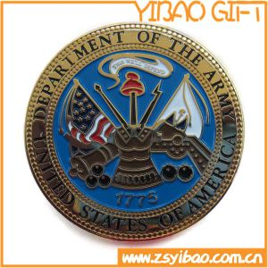 High Quality Metal Army Coin with Gold Plating (YB-c-041) pictures & photos