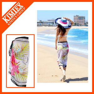 Customs Fashion Printing Beach Shawl Sarong pictures & photos