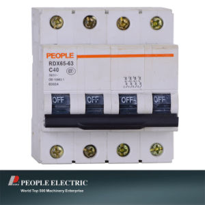 Miniature Circuit Breaker High Quality Rdx65-63 4p pictures & photos