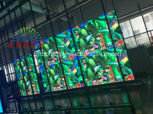 Hot Sale P3 HD Indoor Movable Video Wall Stage Rental LED Display Screen pictures & photos