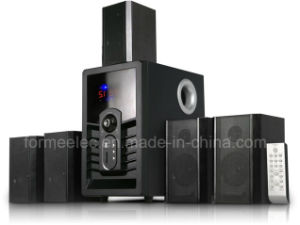5.1CH Home Theater Speaker System H5909 Subwoofer 140W pictures & photos