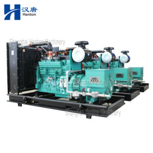 Cummins KTAA19 CNG LNG Methane gas engine 300KW genset generator set pictures & photos