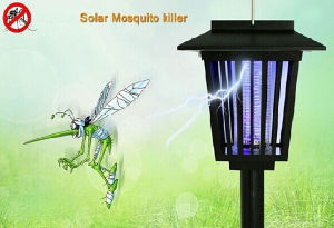 Outdoor Solar Lamp Rechargeable Mosquito Killer Lamp pictures & photos