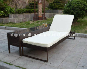 Outdoor Double Rattan Sun Lounge pictures & photos