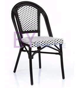 New Products Homelike Non-Wood Aluminum White Wicker Patio Furniture pictures & photos