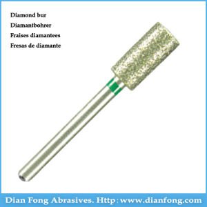 112-050c HP Cylindrical Shape Diamond Bur Dental Cutters pictures & photos