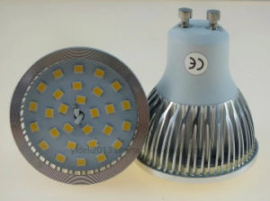 GU10 2835 SMD LED Bulb Lamp with Cover Ce RoHS CB pictures & photos